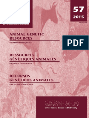 Genetic pdf | Breeds | Natural Environment