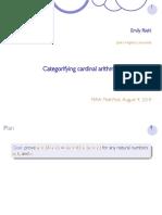 categorifying cardinal arithmetic.pdf