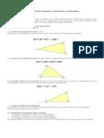 RESUMEN Triángulos Clasificación y Propiedades