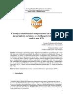 A produção colaborativa no telejornalismo_um estudo sobre a apropriação de conteúdos produzidos pelo telespectador usuario pelo SPTV_Fernando Albino Leme.pdf