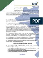 EDITAL DO PROCESSO SELETIVO DE BARREIRAS