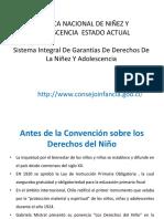 Estado de La Ninez en Chile 2. (2017)