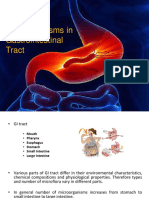 Microorganisms in Gastrointestinal Tract