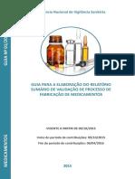 Elaboração do Relatório de Validação de Processo de Fabricação de Medicamentos.pdf