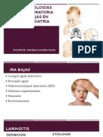 3.Infecciones Respiratorias Bajas