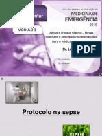Vídeo B - Protocolos de atendimento na sepse e realidade nacional – Dr. Leandro - Apresentação