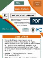 Vídeo D - Anafilaxia - Dr. Lucas - Apresentação