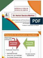 Vídeo H. Pneumotórax hipertensivo e vídeo da punção descompressiva de urgência – Dr. Herlon - Apresentação.pdf