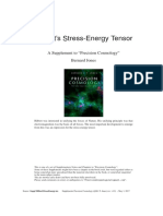Supplement Stress EnergyTensor