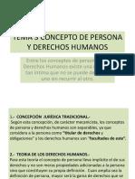 Tema 3 Concepto de Persona y Derechos Humanos