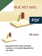 6 Republic Act 10172