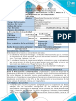 Guía de Actividades y Rúbrica de Calificación Fase 3. Articular y Comprobar La Atención Pre h