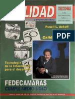 Revista Calidad y Productividad Internacional - Año 1 No.6 - Septiembre 1994 Edgard Romero Nava