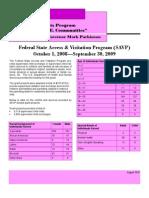2009 SAVP Fact Sheet
