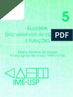 Álgebra - Das Variáveis Às Equações e Funções