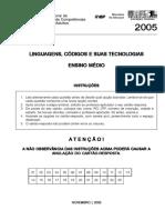 Linguagens - Ensino medio - 2005 - 1.pdf