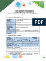 Guía de actividades y rúbrica de evaluación - Paso 3 - Desarrollar la Proyección y estructura del relleno sanitario