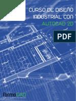 Curso de Diseño Industrial Con Autocad 2d