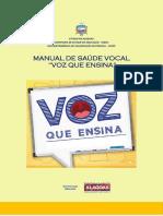 manual de saúde vocal