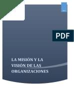 11 La Misión y La Visión de La Organización