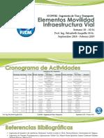 ELEMENTOS MOVILIDAD InfraestructuraVial