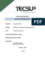 Taller Electromecánico_ Erick Ruiz_Renzo Torres