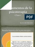 reseña historica psicoterapia