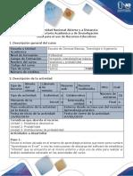 Guía para el uso de recursos educativos - herramientas de análisis estadístico