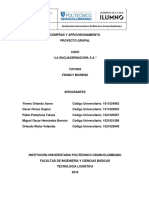 Proyecto Grupal- La Encuadernadora s.a 2 Entrega