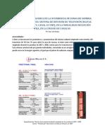 Consideraciones Acerca de La Ocurrencia de Zonas de Sombra en La Cobertura Del Sistema de Difusión de Televisión Digital Terrestre