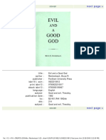 Bruce Reichenbach - Evil and a Good God (1993).pdf