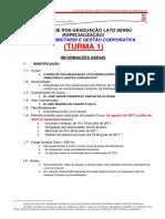 Informações Do i Curso de Direito Tributário e Gestão Corporativa - Ufpe 2017
