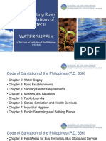 Implementing Rules and Regulations of Chapter II - Code on Sanitation