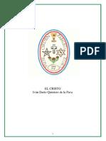Quintero de La Pava, Ivan Dario - El Cristo (Articulo)