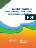 HiAP Intersectorialidad y Equidad SPA 2015