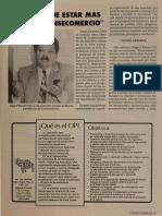 Editorial Revista Consecomercio - Edgard Romero Nava 1991