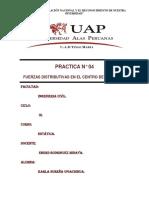 PRACTICA N°04 FUERZAS DISTRIBUTIVAS EN EL CENTRO DE GRAVEDAD.docx