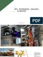 2 Servicios mina PROVEEDORES - ENTRADAS – SALIDAS - CLIENTES PROCESO PRODUCTIVO.pdf