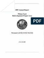 Wilson Yard TIF Annual Report, 2005
