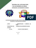 Minas y Produccion Chavez