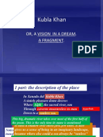 Kubla Khan Visual Analysis