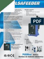 Pulsatron Pulsafeeder Serie c Ficha Tecnica Espanol