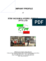 RTM Company Profile