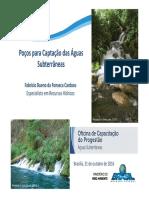 Poços Para Captação de Águas Subterrâneas - ANA