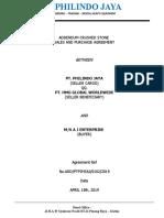 Addendum Contract - PT. HMG Global Worldwide - Ok