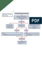 Algoritmo TX OA y Fisioterapia, Risedronato y Alendronato