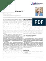 [25018132 - Journal of Interdisciplinary Medicine] JIM — a Step Forward