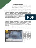 Cochabamba Contaminada