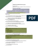 Examen de Oftalmología
