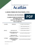 Fesa Itlrii p01 Lab Resistencia de Materiales II